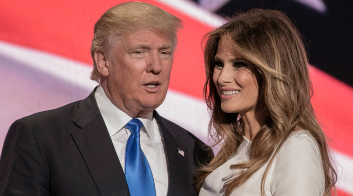 Donald Trump says Melania's life as first lady is 'not so easy'