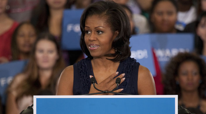 Michelle Obama weighs in on Trump-'Squad' controversy: 'It's our America'